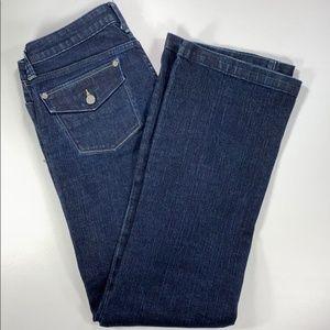Banana Republic Women's Urban Wide Leg Jeans Sz 6